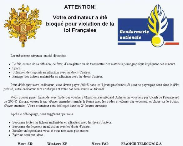 faux_message_gendarmerie
